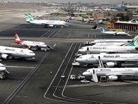 کاهش 70 درصدی پروازهای فرودگاه مهرآباد
