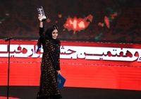 پوشش خاص زنان در جشنواره فیلم فجر +فیلم