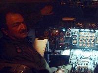 خلبان هواپیمای بوئینگ 707 +عکس