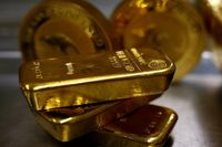 قیمت جهانی طلا رکورد ۷ساله جدیدی ثبت کرد/ هجوم سرمایه گذاران به بازار طلا
