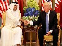 محورهای دیدار ترامپ با امیر قطر