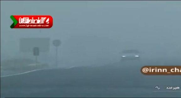 آلودگی هوای زابل از مرز هشدار گذشت! +فیلم