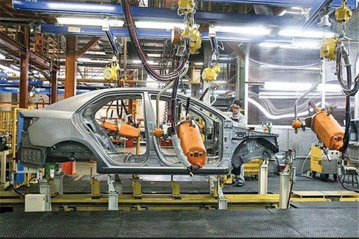 سرعتگیر رشد تولید خودرو
