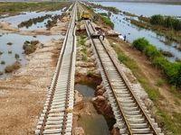راهآهن جنوب مسدود است