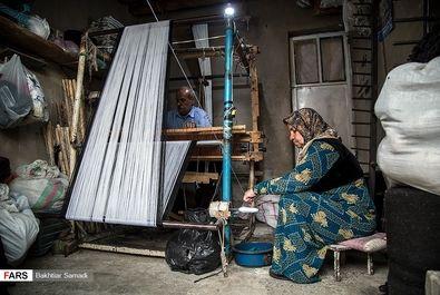 حرفه جولایی نساجی سنتی