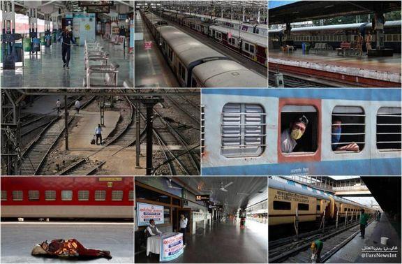 کرونا، راهآهن هند را متوقف کرد