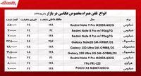 قیمت موبایلهای ویژه عکاسی در بازارتهران +جدول