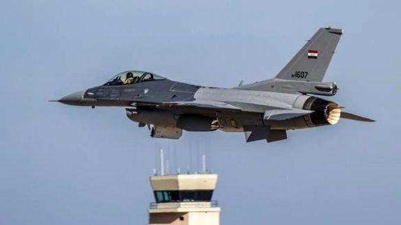 حمله هوایی عراق به مرکز فرماندهی داعش در سوریه