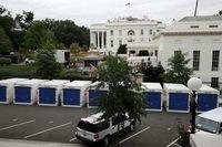 تعمیرات در کاخ سفید +عکس