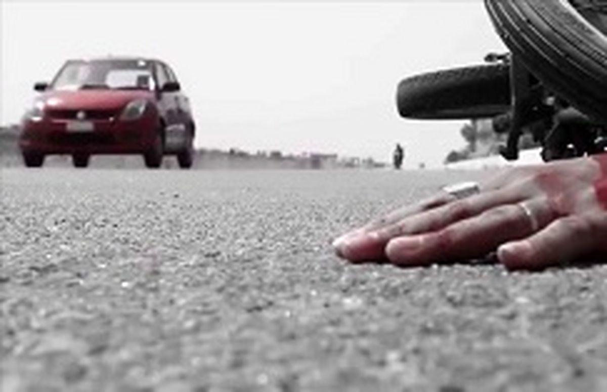 تصادف جادهای ۲فوتی برجای گذاشت
