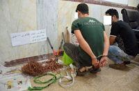 دستگیری سارقان حرفهای سیم و کابل