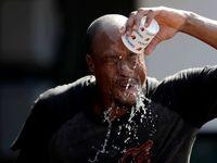 گرمای بیسابقه هوا در آمریکا +تصاویر