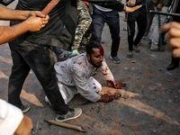 حمله وحشیانه هندوها به مسلمانان +عکس