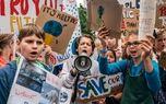 تظاهرات جهانی دانش آموزان علیه تغییرات اقلیمی +تصاویر