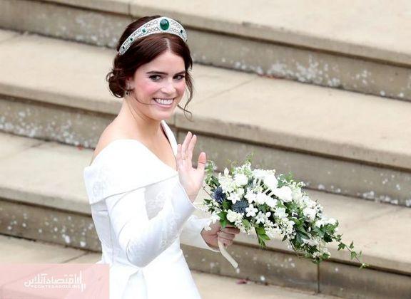 عروسی پرخرج نوه ملکه انگلیس! +فیلم