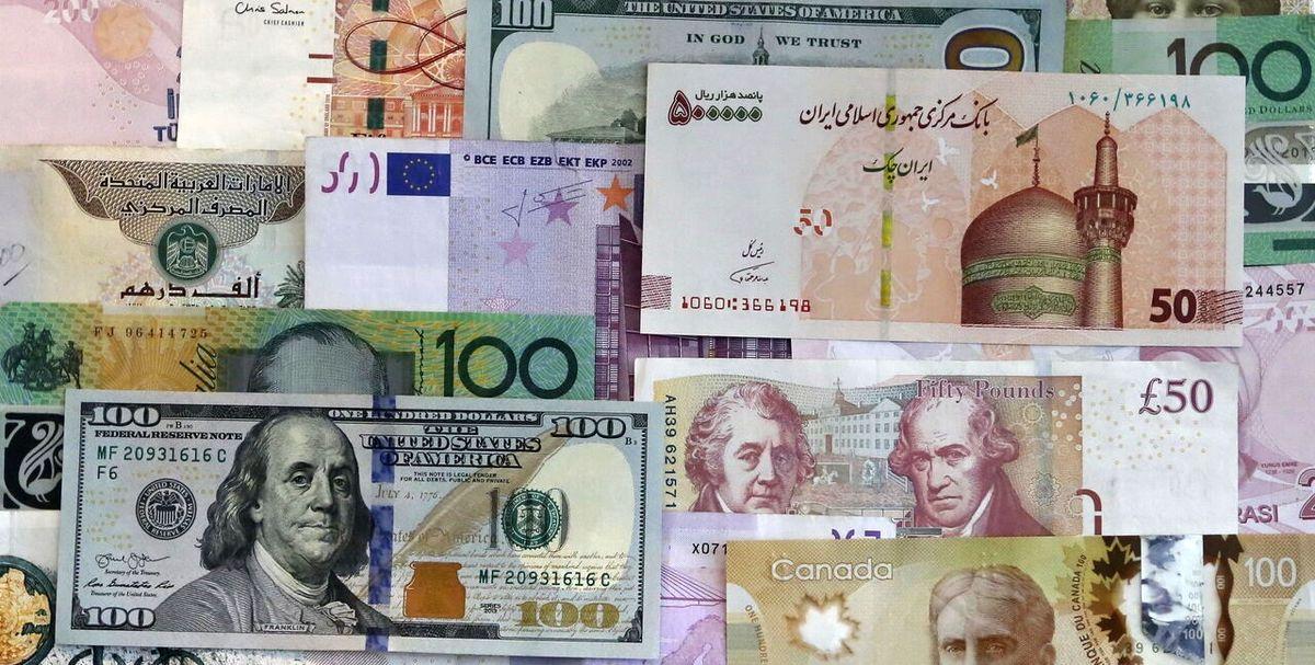 نرخ رسمی تمام ارزها ثابت ماند