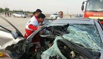 تصادف مرگبار ۳کشته و ۲زخمی برجا گذاشت