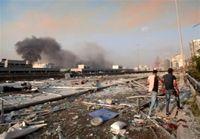 فیلم انفجار جدید بیروت