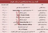 نرخ انواع بسته لوازمالتحریر دربازار تهران؟ +جدول