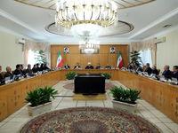 وزرای جدید در جلسه هیات دولت +تصاویر