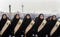 استفاده از پلیس زن در ورزشگاه آزادی