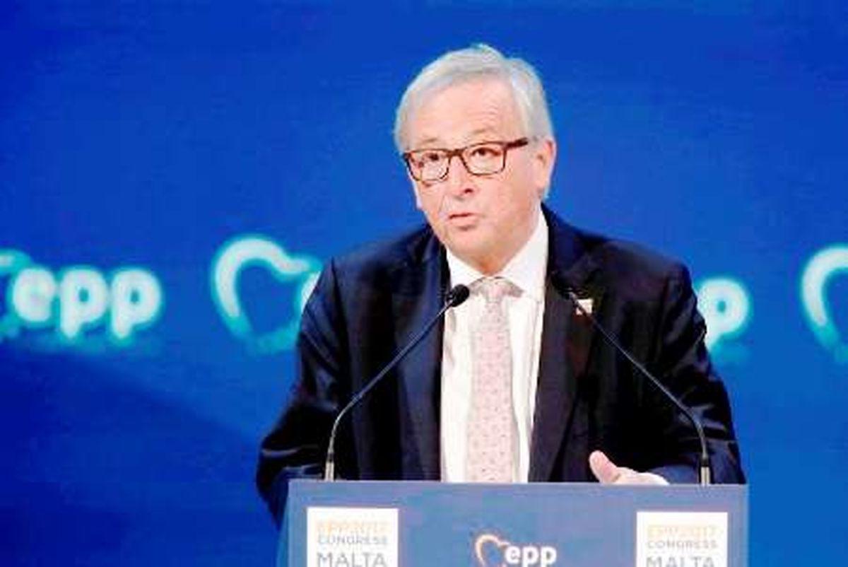 رییس کمیسیون اروپا ترامپ را تهدید کرد