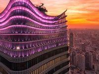 آسمان خراشهای غول آسا در شانگهای +تصاویر