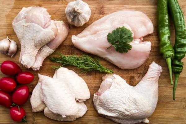 عوارض مرغ خام