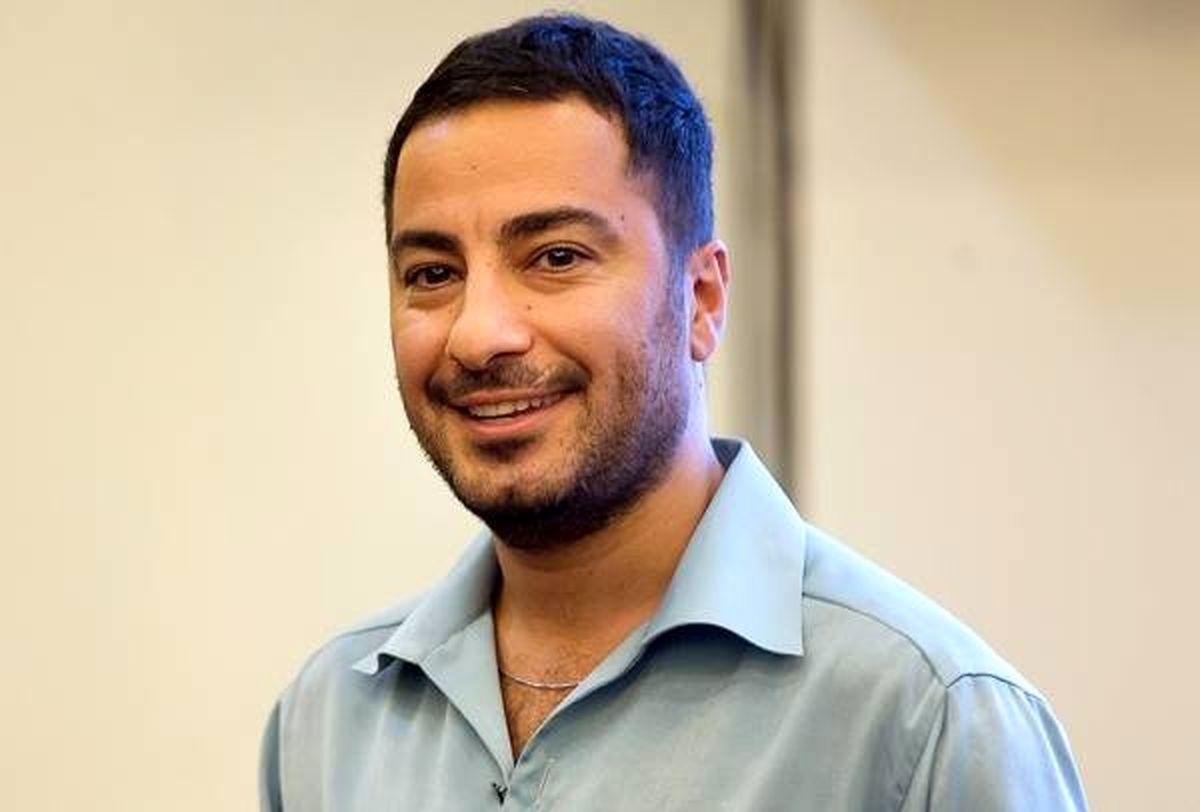 تبریک نوید محمدزاده به بهرام رادان + عکس
