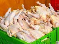 مرغ ۳۰۰۰تومان گرانتر از قیمت مصوب