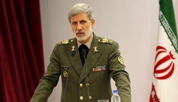 رد نقش ایران در حمله به تاسیسات نفتی آرامکو از سوی وزیر دفاع