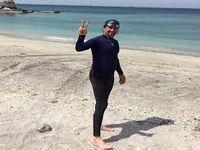 شنای 150کیلومتری به مناسبت روز ملی خلیج فارس
