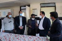 بازدید معاون توسعه مدیریت و منابع وزارت رفاه از ستاد امدادرسانی بسیج شستا به زلزله زدگان
