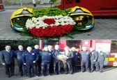 ابراز همدردی آتشنشانهای ایرلندی با قهرمانان ایرانی +عکس