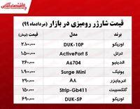 قیمت روز شارژر رومیزی در بازار +جدول