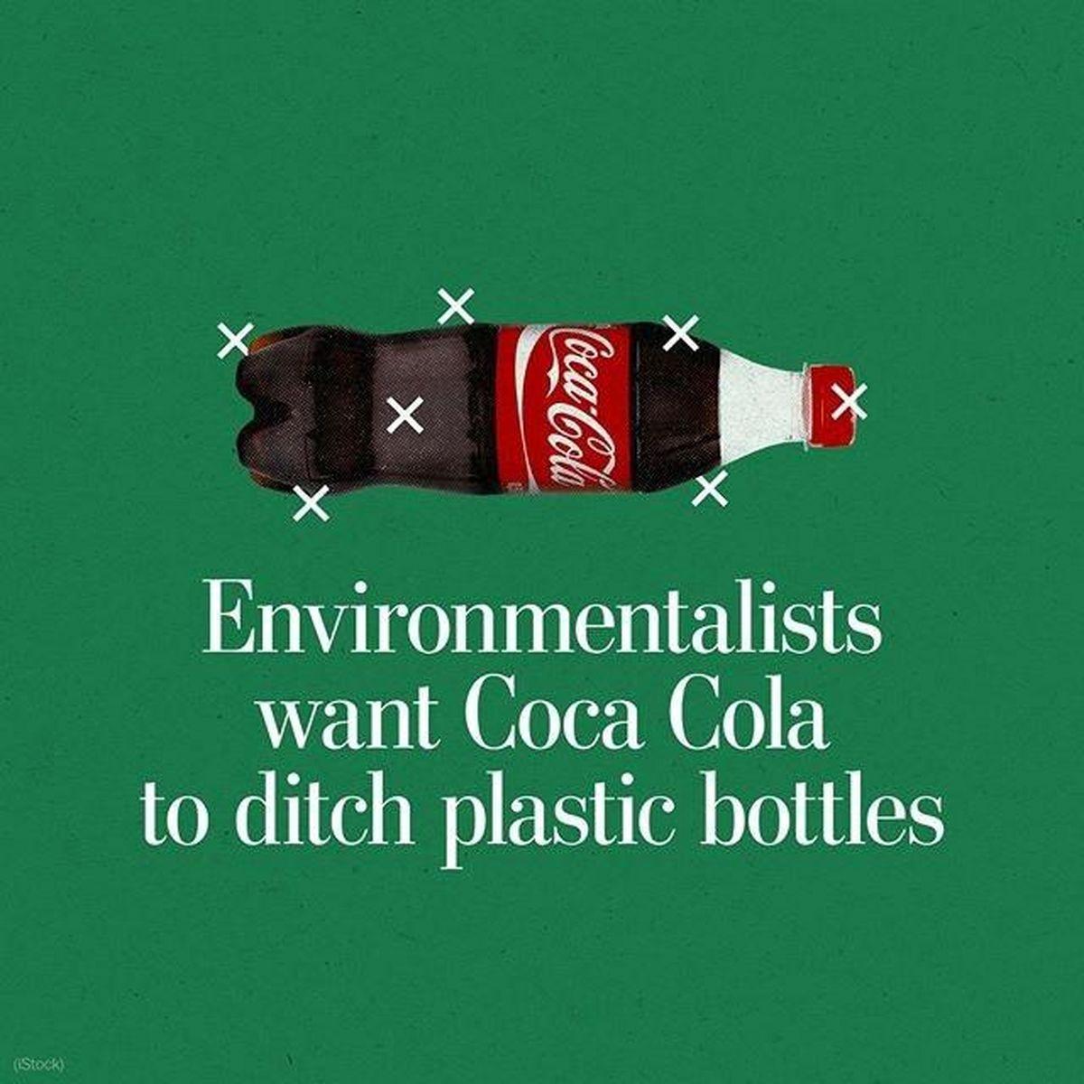 خواسته حامیان محیطزیست از شرکت کوکاکولا