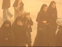 گرد و خاک موقتی در راه تهران است