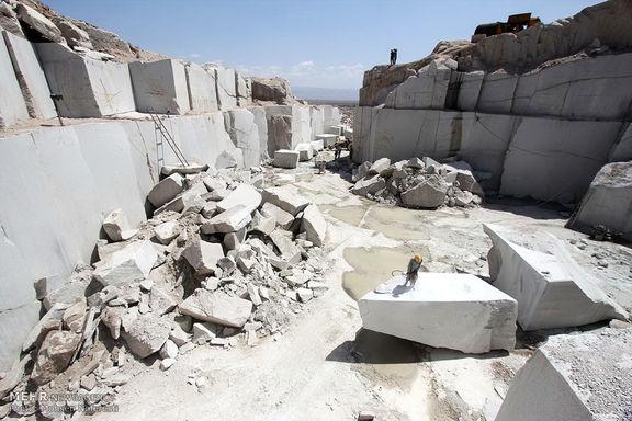 توازنی بین میزان تولید سنگ و صادرات وجود ندارد