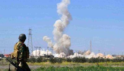 حمله شیمیایی به حلب تایید شد