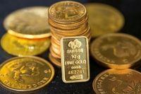 اونس طلا به کف قیمت ۳ هفته گذشته رسید