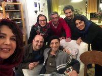 سلفی شهره سلطانی و دیگران با حسین محباهری +عکس