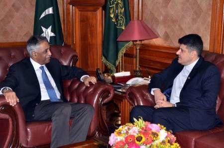 گسترش روابط با پاکستان، از اولویت های ایران است
