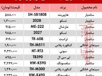 قیمت انواع سینما خانگی در بازار ؟ +جدول