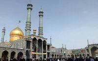 هتک حرمت آستان مقدس حضرت معصومه (س) +عکس