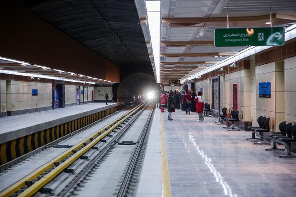 درگیری خونین در قطار شهری مشهد