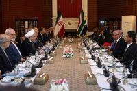 تاکید روحانی به توسعه روابط با آفریقای جنوبی