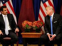 قراردادهای نظامی و تجاری بین آمریکا و قطر به امضا رسید