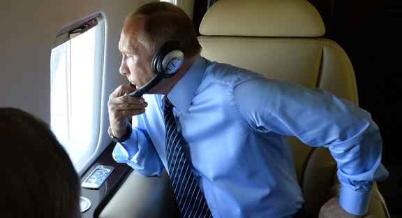 جزییات تغذیه رئیس جمهور روسیه در حین پرواز