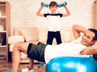 مقابله با کرونا به روش ورزش خانگی