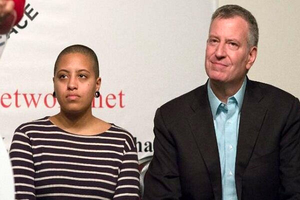 دختر شهردار نیویورک بازداشت شد